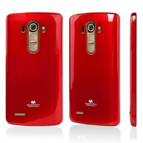 Jelly Silicone LG G4 red
