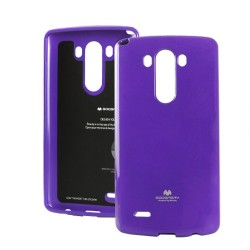 LG G4 Jelly Silicone purple