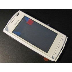 Nokia 500 Touch Screen+FrontCover+Speaker white HQ