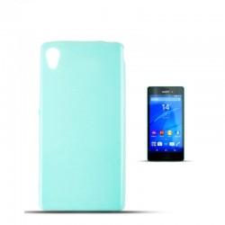 Sony Xperia M4 Aqua Jelly 0,3mm Silicone mint