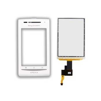 Sony Ericsson X8-00 FrontCover+Touch Screen white ORIGINAL