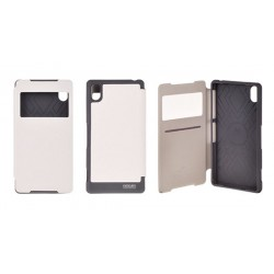 Samsung Galaxy S6 Mercury Wow View Case white