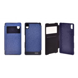 Samsung Galaxy Grand Prime Mercury Wow View Case navy