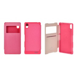 Samsung Galaxy A3 Mercury Wow View Case pink