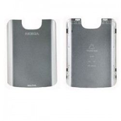 Nokia E5-00 BatteryCover stainless ORIGINAL