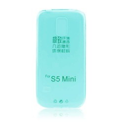 Samsung Galaxy S5 Mini Ultra Slim 0.3mm Silicone blue