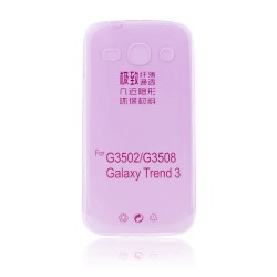Samsung G350 Galaxy Core Plus Ultra Slim 0.3mm Silicone pink