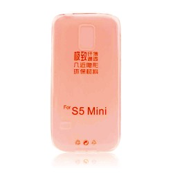 Samsung Galaxy S5 Mini Ultra Slim 0.3mm Silicone coral