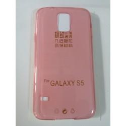 Samsung Galaxy S5 Ultra Slim 0.3mm Silicone coral