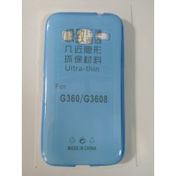 Samsung Galaxy Core Prime Ultra Slim 0.3mm Silicone blue