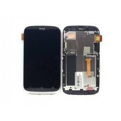 HTC Desire X Lcd+Touch Screen+Frame silver HQ
