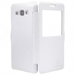 Samsung Galaxy S7 Nillkin Sparkle S-View Case White