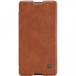 Samsung Galaxy S7 Nillkin Qin Case Brown