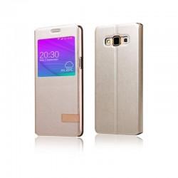 Samsung Galaxy S7 Plus Usams Muge S-View Case Black