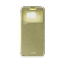 Samsung Galaxy S7 Edge Roar Noble View Case Gold