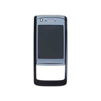 Nokia 6280 FrontCover black/silver ORIGINAL