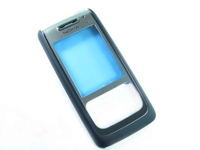 Nokia E65 FrontCover black ORIGINAL