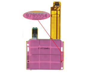 Nokia E65 UI Board Numeric