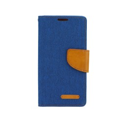 LG G4C Bulk Canvas Case blue