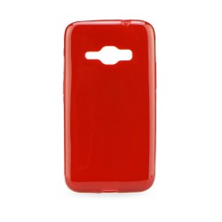 Samsung Galaxy J1 2016 Jelly 0,3mm Silicone red