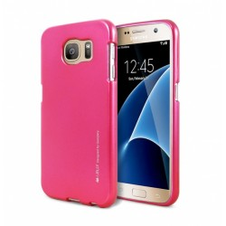 Samsung Galaxy S7 Edge Mercury i-Jelly Silicone Blue