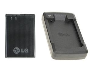 LG Battery LGIP-520N with Desk Charger Set