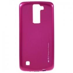 LG K8 Mercury i-Jelly Silicone Case Pink
