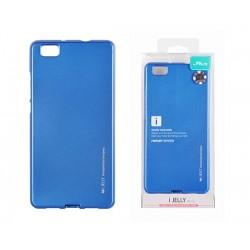 LG K8 Mercury i-Jelly Silicone Case Blue
