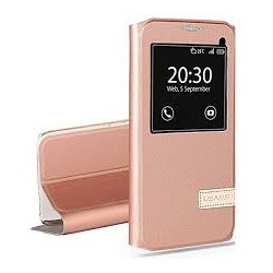 iPhone 6/6s Usams Muge S-View Case Rose Gold