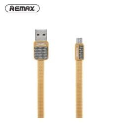 Remax Platinum RC-044m MicroUsb Data Cable Gold