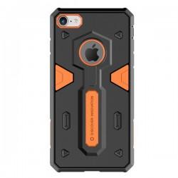 Apple iPhone 8/7 Nillkin Defender II Protective Silicone Black Orange