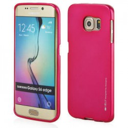 Samsung Galaxy S6 Edge Mercury i-Jelly Silicone pink