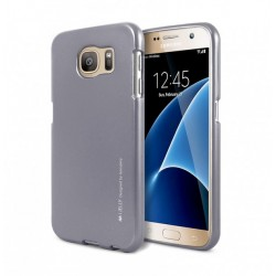 Samsung Galaxy S6 Edge Mercury i-Jelly Silicone grey