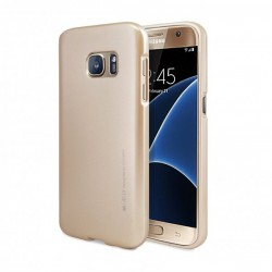 Samsung Galaxy S6 Edge Mercury i-Jelly Silicone gold