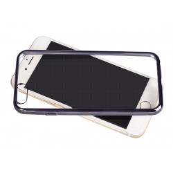 Samsung Galaxy S7 Edge Clear Silicone Grey