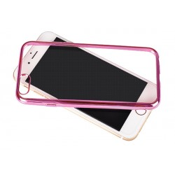 Huawei P9 Lite Clear Case Pink