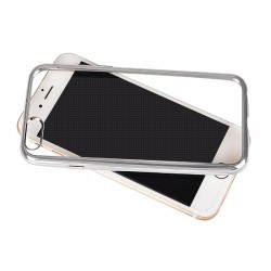 Samsung Galaxy S7 Edge Clear Silicone Silver