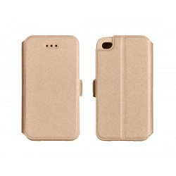 Samsung Galaxy S8 Plus Telone Book Case Gold
