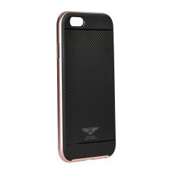 Apple iPhone 8/7 Kaku Silk Silicone Black Pink
