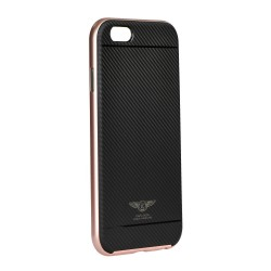 Samsung Galaxy S7 Kaku Silk Silicone Black Pink
