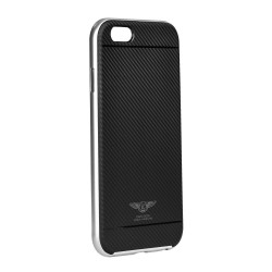 Samsung Galaxy S7 Kaku Silk Silicone Black Silver