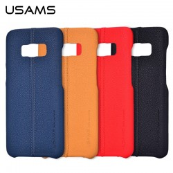 Usams Joe Leather Hard Case Samsung Galaxy S8 Plus Brown