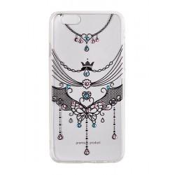 Huawei P9 Lite Vennus Art Tpu Case D4 Crown Black