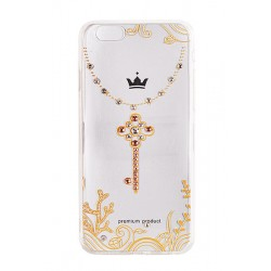 iPhone 7 Vennus Art Silicone D3 Key gold