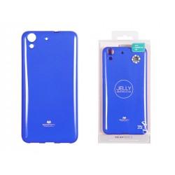 Huawei Y6 II 2016 Jelly Silicone Blue