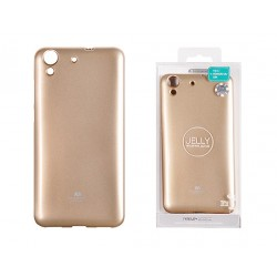 Huawei Y6 II 2016 Jelly Silicone Gold