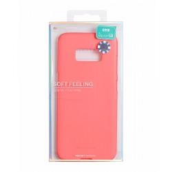 Samsung Galaxy J3 2016 Mercury Soft Feeling Silicone Pink