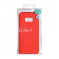 Samsung Galaxy J7 2016 Mercury Soft Feeling Silicone Red