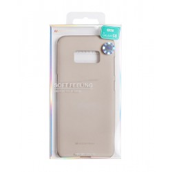 Samsung Galaxy S8 Mercury Soft Feeling Silicone Blue