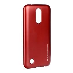 LG K10 2017 Mercury i-Jelly Silicone Red